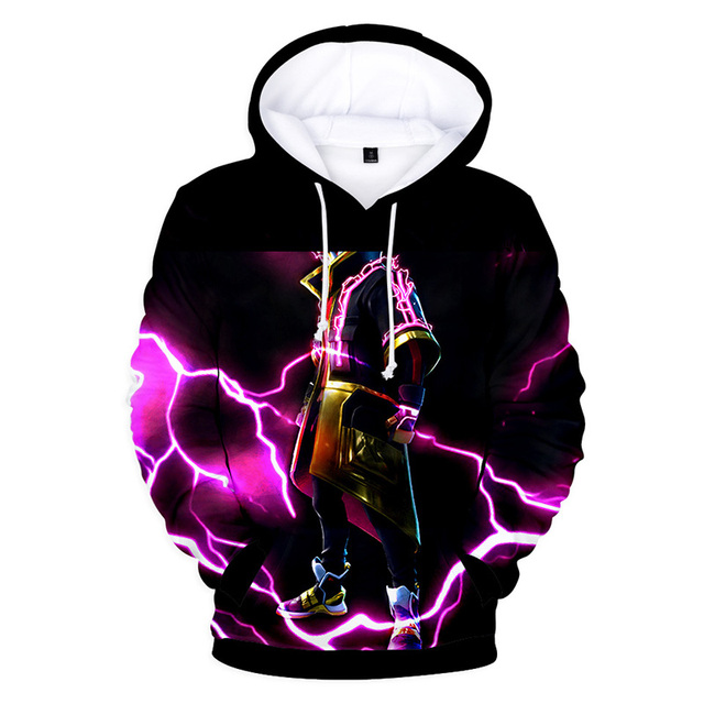Men/Women Clothes Fortnight Night 3D Color Printing Shadow Assassin Hooded Sweatshirts Hip Hop Tops Fashion Wear Hot Selling 2