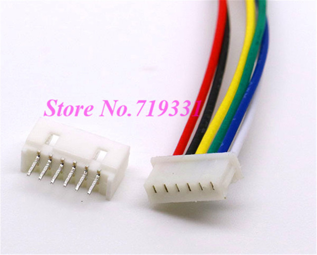 10 Pairs 1.25mm Micro JST 1.25 6 Pin Male&Female Connector plug with ...