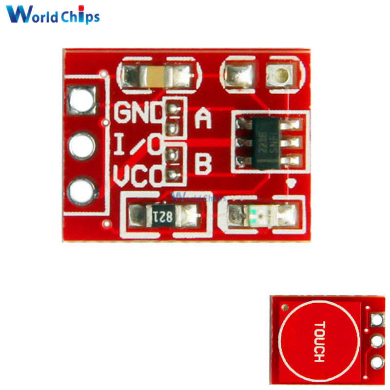 Audio & Video Replacement Parts Circuits The Best Claite 1pc 2.5-5.5v Ttp223 Capacitive Touch-switch Button Self Lock Module For Arduino Circuits