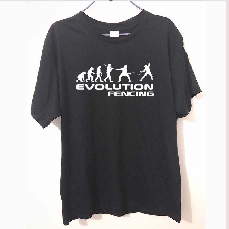 Funny Novelty Tops T-Shirt Womens tee TShirt Evo Fencing