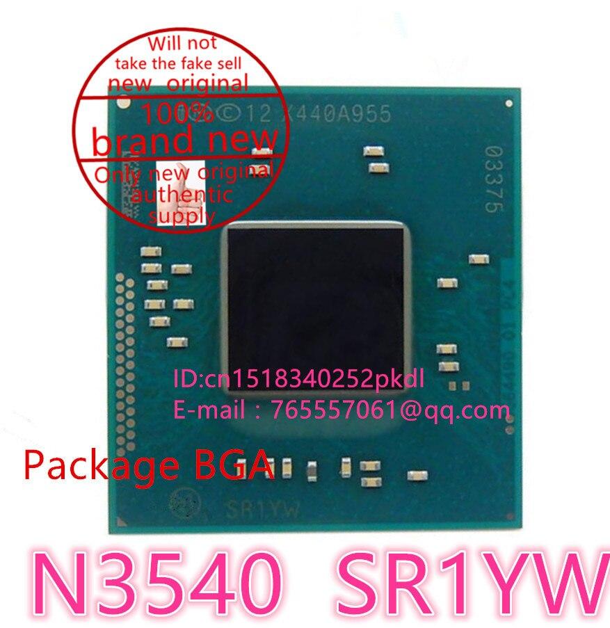 ФОТО 100% test very good product  N3540  SR1YW  BGA chip reball with balls IC chips