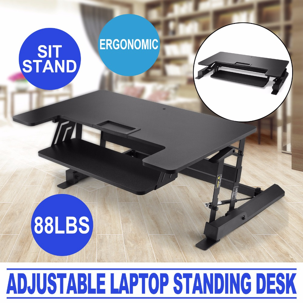 height adjustable standing desk sit to stand desk 88533