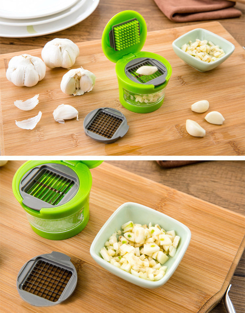 Aliexpress.com : Buy Garlic Chopper Garlic Press 2 Stainless Steel ...