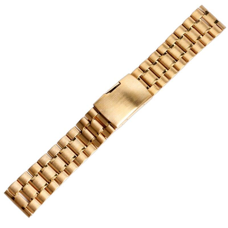 Adorno en la cintura cierro hebilla correa de 5 cm mercancía nueva oro viejo inoxidable #131#