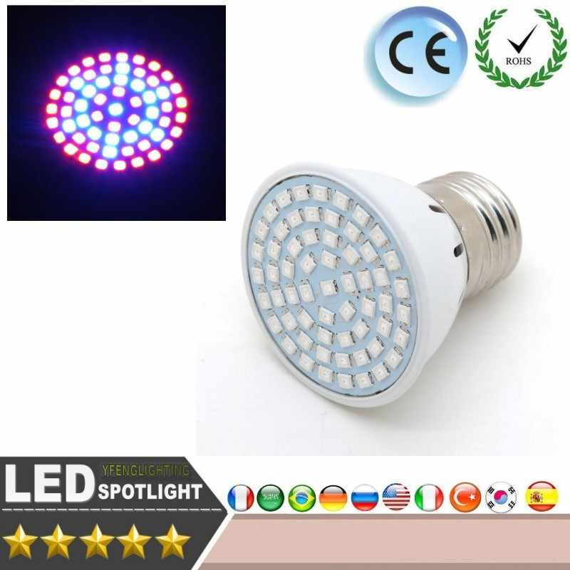 Lampadine A LED E27 15 W LED Coltiva La Lampadina di illuminazione Completo Spectrum Indoor Piante Lampada Fiore Piantina Idroponica Sistema Tenda led luce
