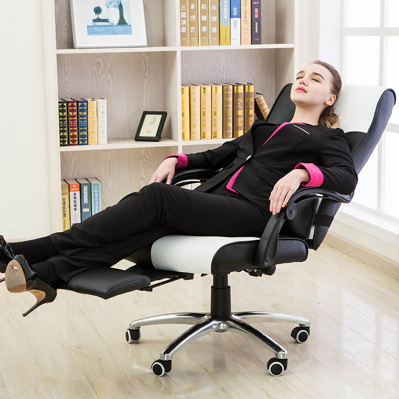 High Quality Ergonomic Executive Office Chair Lying Footrest Computer - Furniture - Photo 2