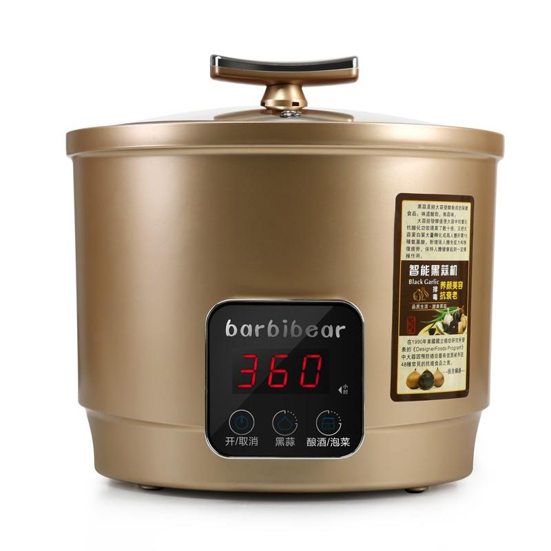 110 220V 6L Intelligent Electric Black Garlic Machine Household DIY Automatic Zymolysis Maker Zymosis Pot EU