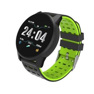 Image 3 - Inseguitore di fitness orologio da polso intelligente Oled di silice banda Heart Rate Monitor di pressione sanguigna tracker vita Impermeabile PKHonor fascia