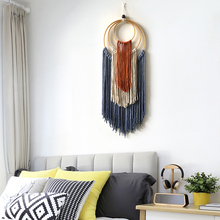 Tapestry Boho-Decor Macrame Wall-Hanging Mexican Bedroom Living-Room Hand-Woven Study
