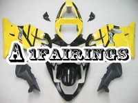 Body Frame for Honda CBR600F4i 2001 2002 2003 ABS Plastic Injection Cover Motorcycle CBR600F4i 01 02 03 Gloss Black Yellow Panel
