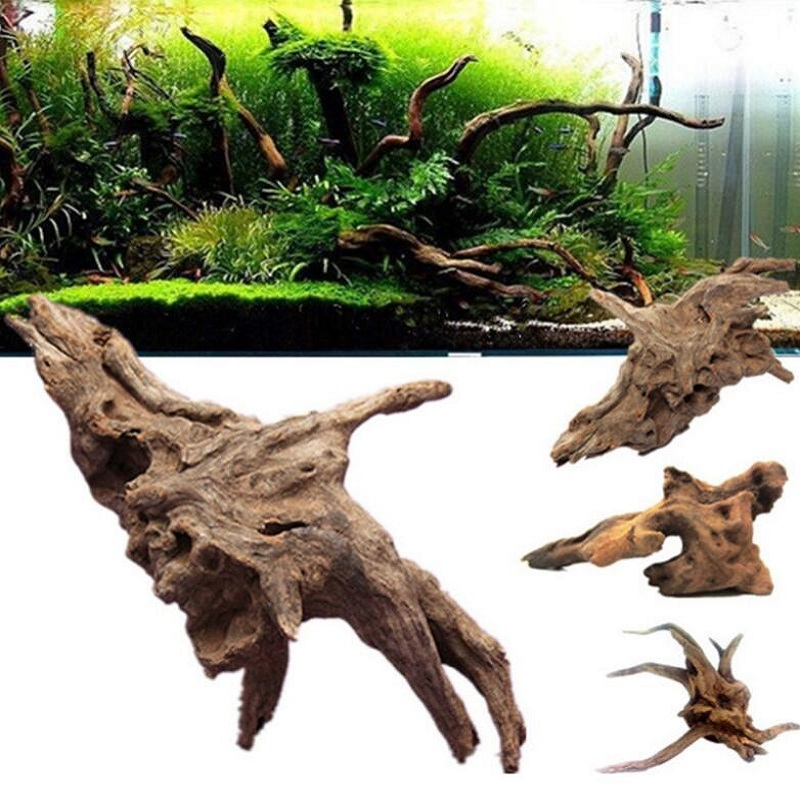1 Piece Creative Aquarium Accessories Fish Tank Landscaping Drifting Trees Size S/M/L Fish Tank Decoration