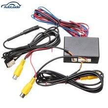 Nueva cámara de vídeo del coche interruptor de control Inteligente (vídeo del coche del interruptor automático) conectar frontal o lateral/trasero cámaras
