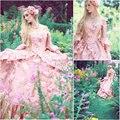 Custom-madeR-114 19 century Vintage costume Victorian Gothic Lolita/Civil War Southern Belle Ball Halloween dresses Sz US 6-26