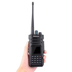 Image 2 - Retevis Ailunce HD1 DMR Digitale della Radio A due vie Radio Walkie Talkie 10W IP67 GPS DMR VHF UHF Prosciutto radio Amatoriale Ricetrasmettitore 2pcs