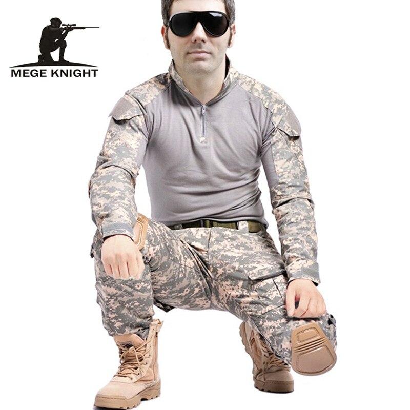 Équipement tactique airsoft vêtements militaires costume de camouflage pour uniforme militaire de combat équipement de paintball multicam armée