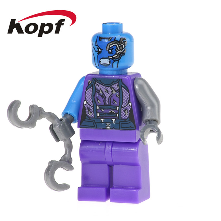 PG160 Super Heroes Building Blocks Nebula Bad Guy Rocket Raccoon Tree Man Guardians of the Galaxy Bricks Gift Toys For Children