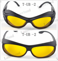 190nm 490nm O D4 UV Blue Laser Protective Goggles Safety Glasses CE