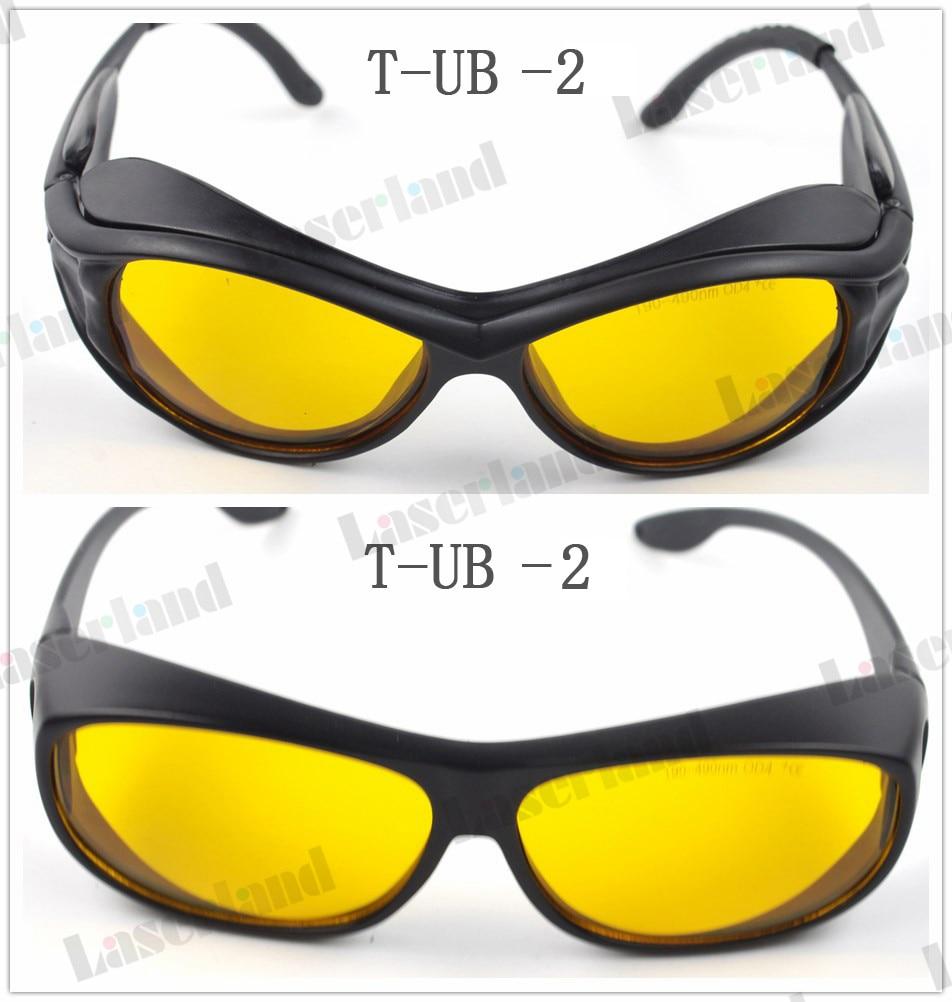 SK-UB Uv 190nm-490nm 405nm 445nm 450nm 473nm O. D4 + UV Blau Laser Schutzbrille Schutzbrille CE