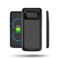 Portable 5000mah Charger Case Extended Fast Charging Backup Pack Power Bank Case Cover for Samsung Galaxy S8 s8plus s9 s9plus