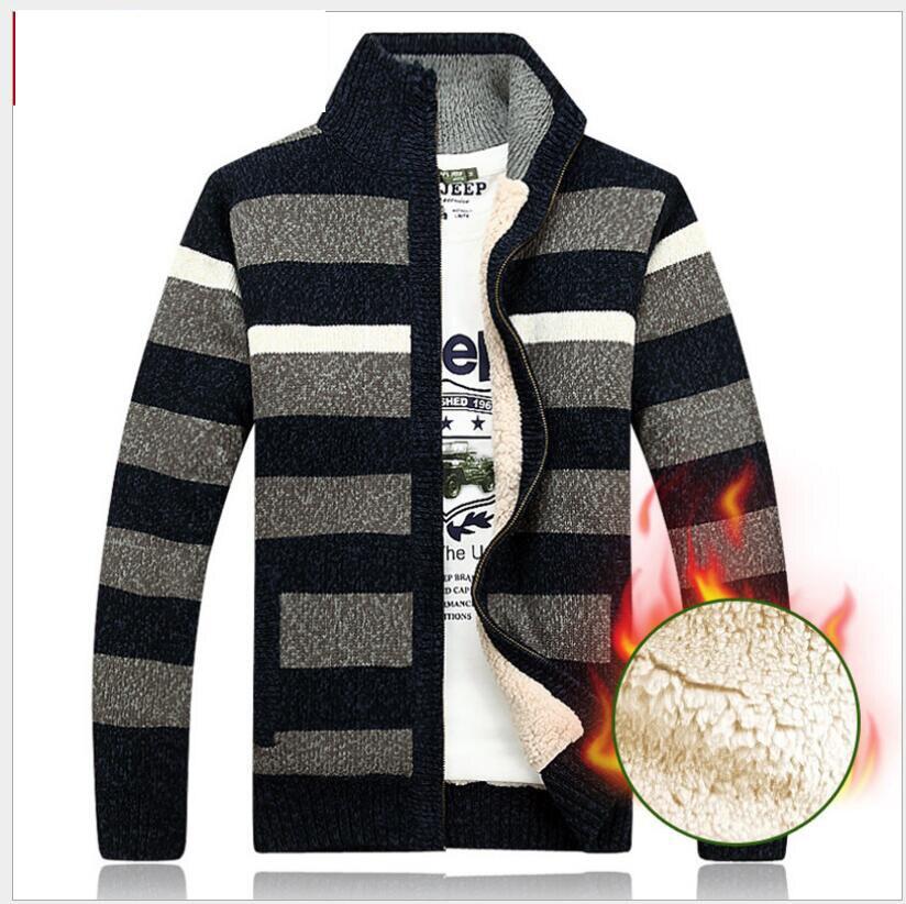 Bescheiden Neue Ankunft Pullover Sweatercoat Hohe Qualtiy Männer Dicken Plus Samt Winter Direkt Fabrik Preis Mode Lässig Größe M-3xl Dinge Bequem Machen FüR Kunden
