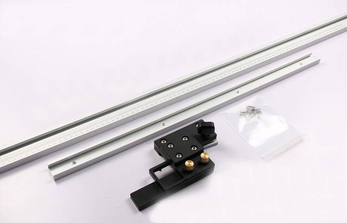 Universal Double Layer Woodworking Track Guide Rail with Stop for Electric Circular Saw Woodworking tools DIY