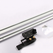 Universal Double - Layer Woodworking Track Guide Rail with S