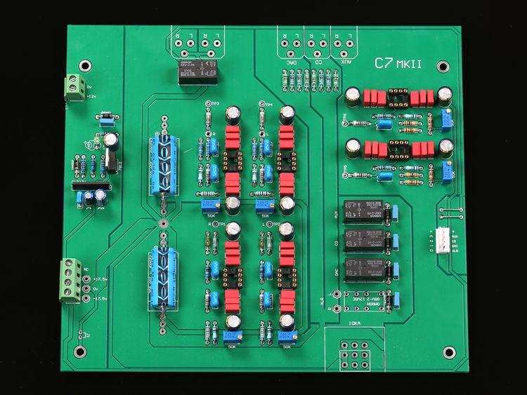 C7.2 HIFI เกรด pre   เกรดสำเร็จรูปบอร์ด balanced input และ output-ใน เครื่องขยายเสียง จาก อุปกรณ์อิเล็กทรอนิกส์ บน AliExpress - 11.11_สิบเอ็ด สิบเอ็ดวันคนโสด 1