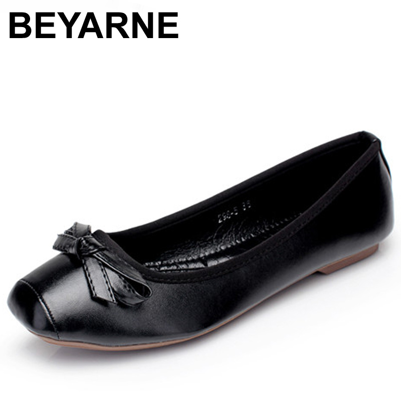 Ladies Women Pu Leather Black Ballerina Ballet Flats Square Toe Bow Comfy Slip On Shoes Plus Size41 odetina 2017 new women pointed metal toe loafers women ballerina flats black ladies slip on flats plus size spring casual shoes
