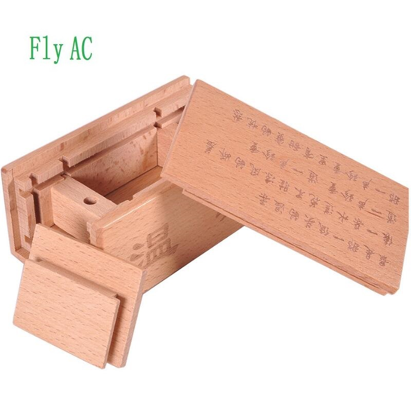 Wooden Box Puzzle game 3D Luban lock toys For Children Adult Educational Magic Toys Brain Teaser Game puzzle secret box iq mind wooden magic box teaser game adults gifts creative educational toys montessori kong ming lock lu ban