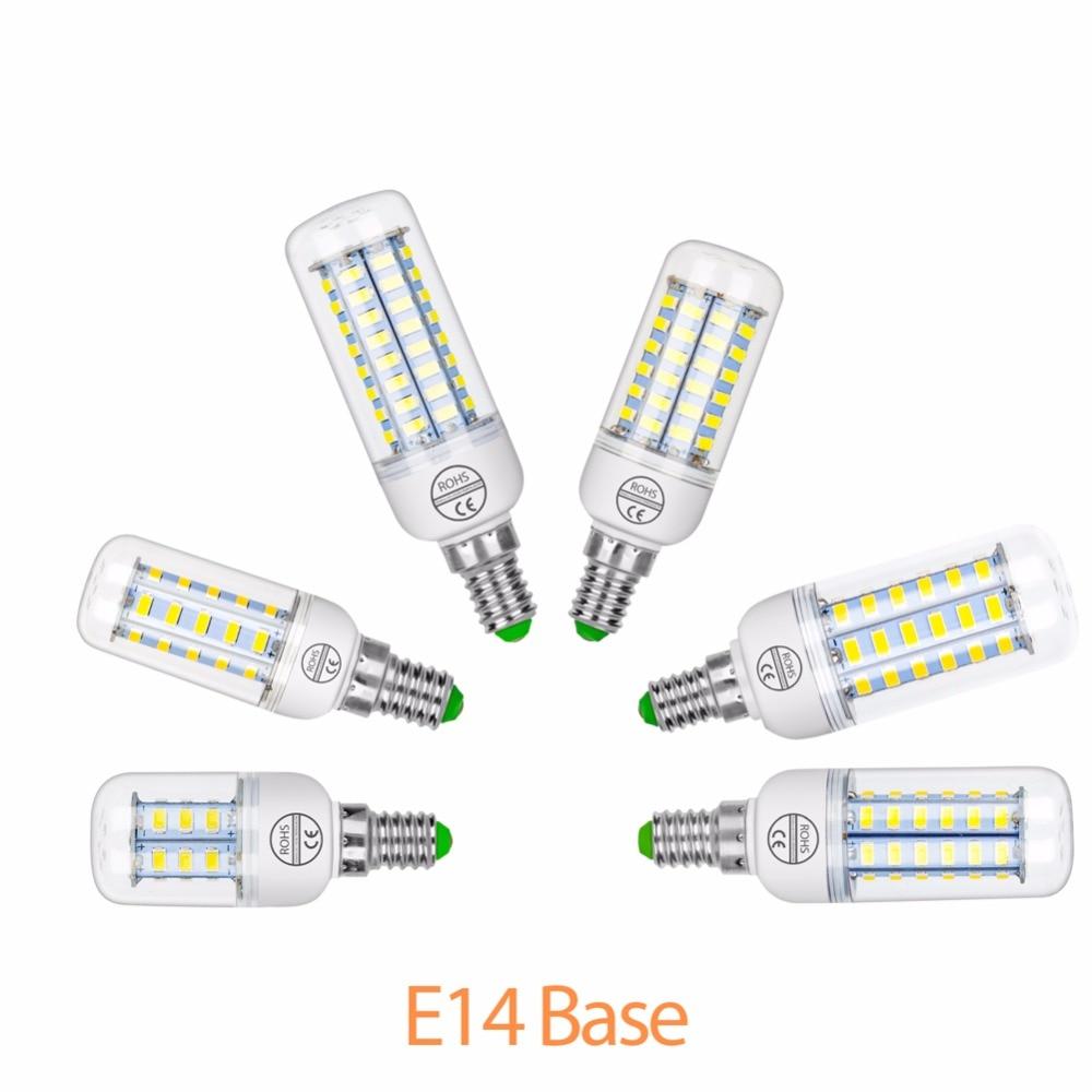 Ampoule LED E27 lamp Corn Bulb 220V home bombillas LED E14 Energy saving Lighting Bulb SMD5730 lampada 7W 12W 15W 18W 20W 25W