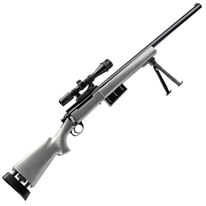 ZhenDuo Toys Manual Bolt Action GJ M24 Gel Ball Blaster Mag-fed Water Toy  Sniper Adult Size