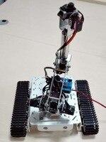 Алюминий сплав металла бак с 6 dof длинные механическая рука робота с серво