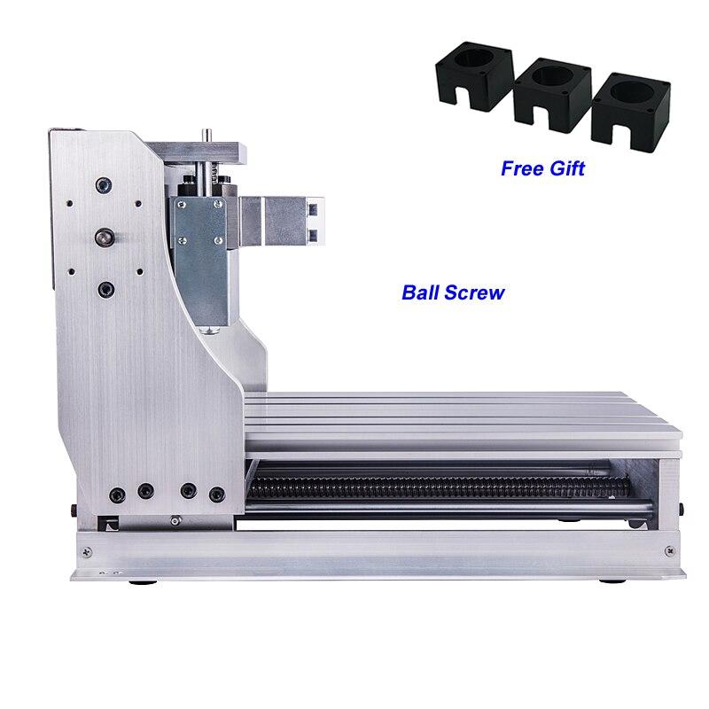 Tout en fonte d'aluminium CNC cadre Kit bricolage routeur 3020 vis à billes 1605