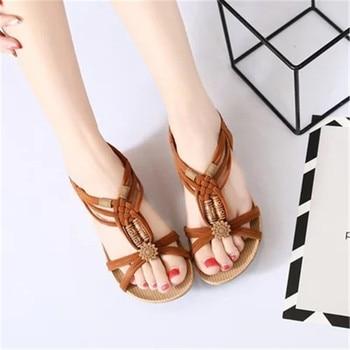 Summer Women Sandals  Comfortable flats Ladies Shoes Beach  Sandal Women Casual shoes for women Fashion Shoes Sandals