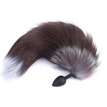 Big Fox Tail Anal Tail Anal Plug Vibrator Butt Plug (China)