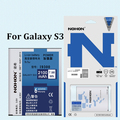NOHON 2100mAh High Capacity Batteries For Samsung Galaxy S3 i9300 i9305 i879 T999 i535 i747 i9082 i9128 EB-L1G6LLU