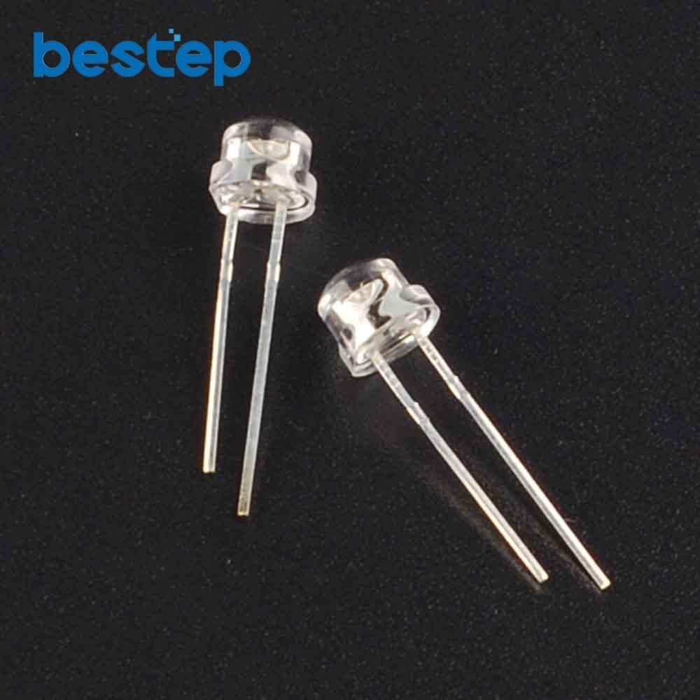 200pcs straw hat white 5mm super bright white light emitting diode rh aliexpress com