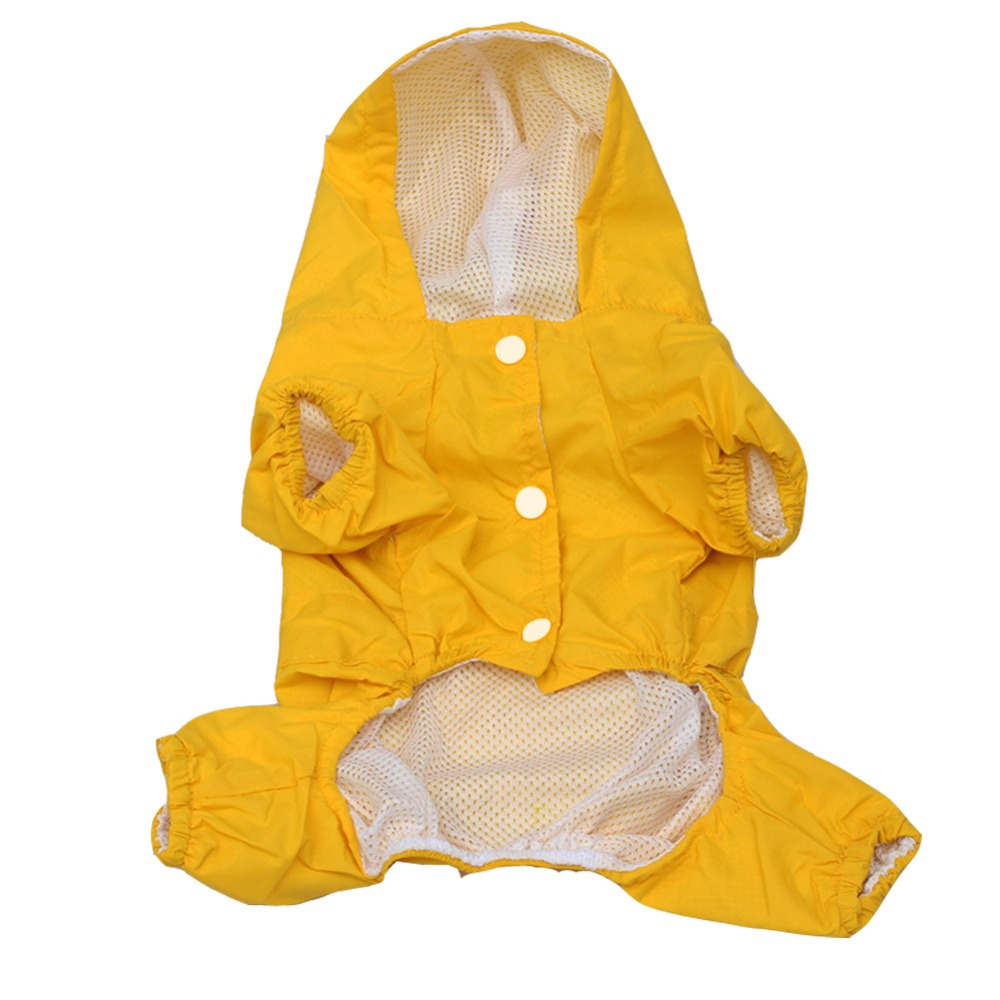 Superior Pet Raincoat With Hood Dubbelskikt vattentät design hund - Produkter för djur - Foto 6