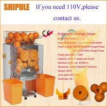Бесплатная доставка из нержавеющей стали оранжевая выдавливающая