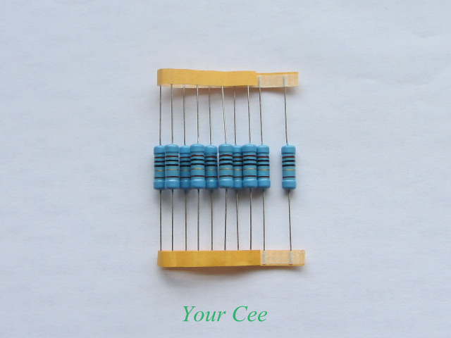 270R . 5pcs 270 ohm 1/% 3W Metal Film Resistor 3 Watts