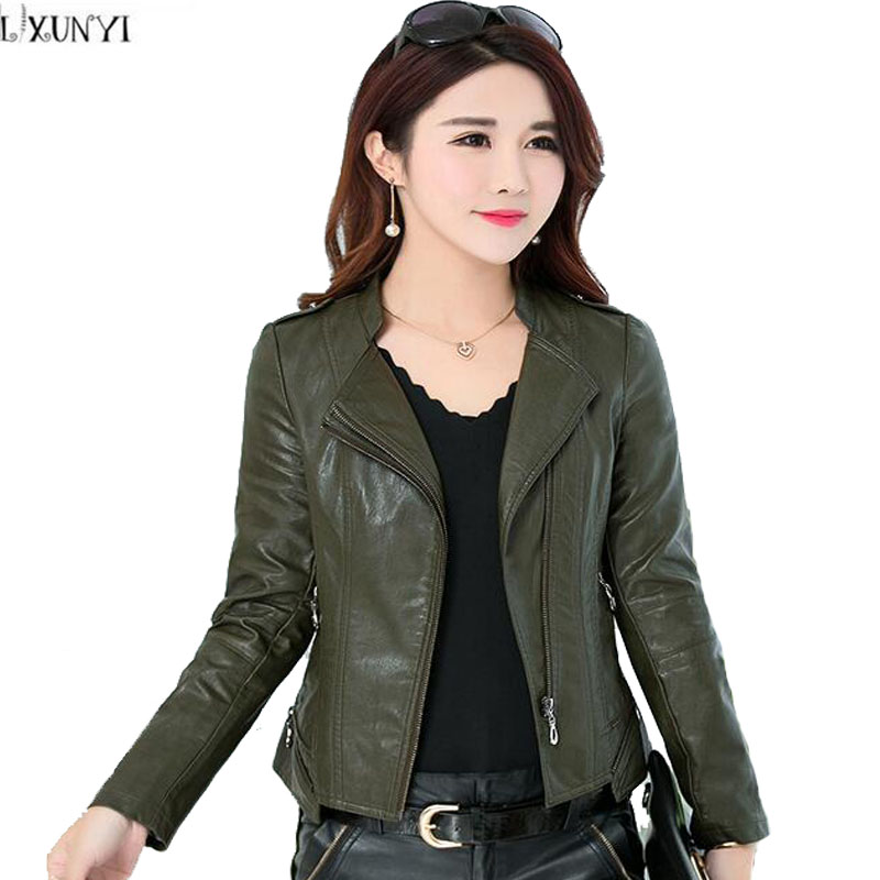 Compare Prices on Army Green Leather Jacket- Online Shopping/Buy ...