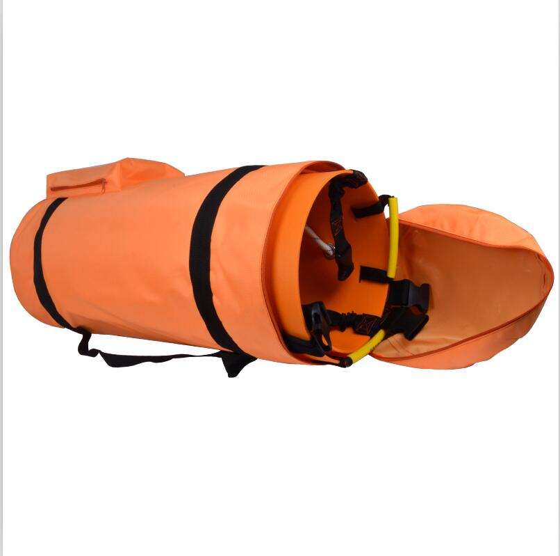 Lift Roll Stretcher Folding Multifunctional Fire Emergency Well Height Rescue