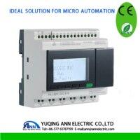 PR 18DC DAI R N with LCD, without cable, 24VDC,6 DI/AI+2DI/AI+4DI, 6 DO,programmable logic controller,mini PLC,,PLC
