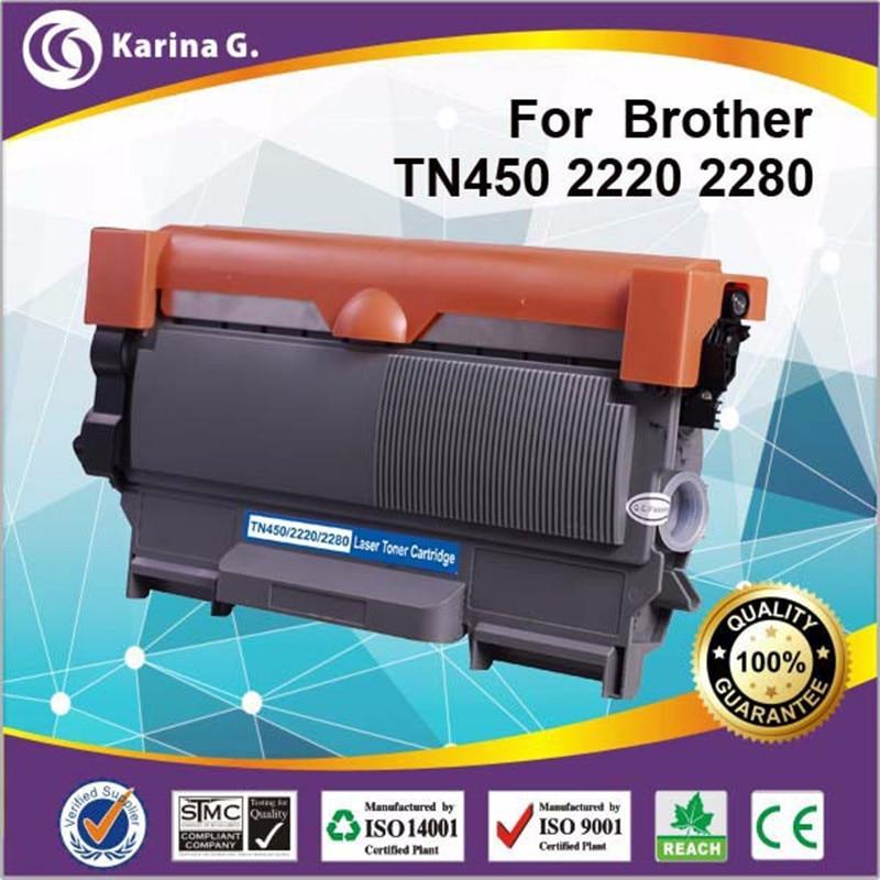 Подробнее о black toner for brother tn-2280 toner compatible toner cartridge high quality, 2600page yield 1x tn 450 toner cartridge compatible for brother mfc 7240 printer 2600 page