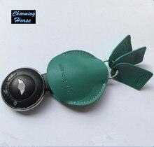 Кожаный Брелок Крышки Случая брелок Держатель Для BMW Mini Cooper Clubman Countryman Paceman Родстер R Серии