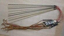 12 1 inch laptop led backlight strip upgrade kit adjustable light 258mm led kit