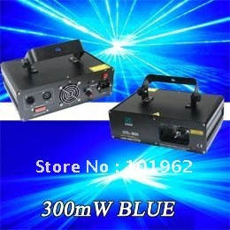 dj lighting 300mW blue laser light disco club bar stage laser lighting show