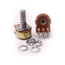 Glyduino WH148 B50K Двойной Ссылка 6 контакты линейный потенциометр пот Одноместный соединение для Arduino