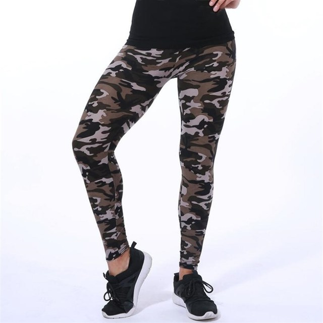 Skinny Camouflage Spring Summer Slimming Pants