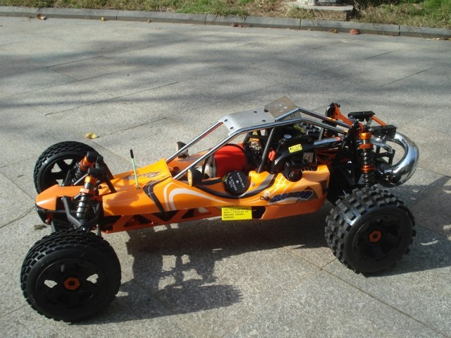 baja 29CC+metal roll cage+DDM pipe copy+GT3B radio set